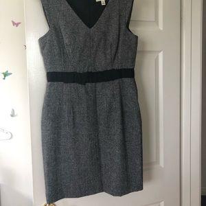 Banana Republic gray wool dress
